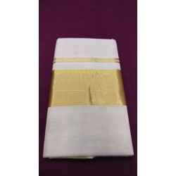 4 INCH PLAIN TISSUE SAREE