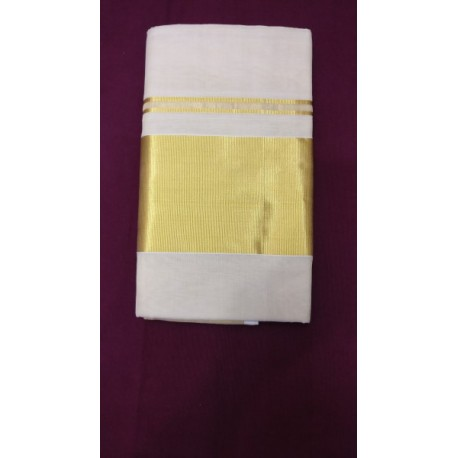 5 INCH PLAIN TISSUE SAREE