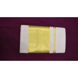 6 INCH PLAIN TISSUE SAREE